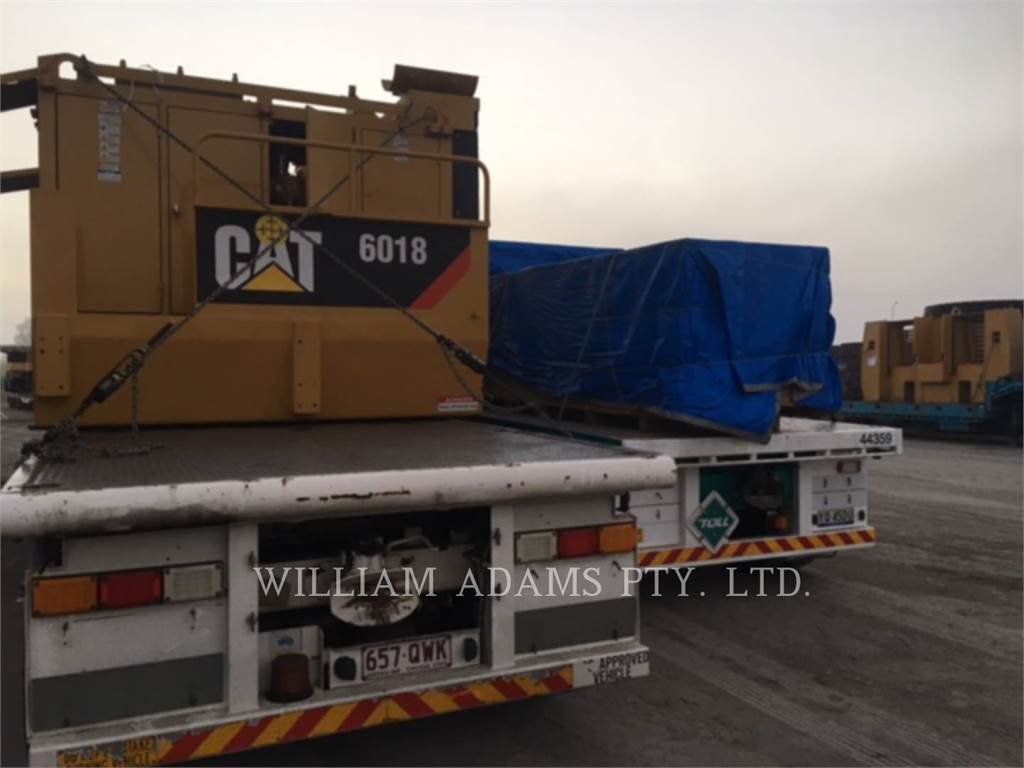 Caterpillar 6018, large mining product, Construction