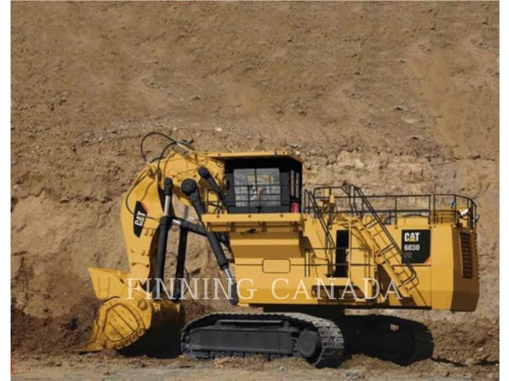 Caterpillar 6030, Crawler Excavators, Construction