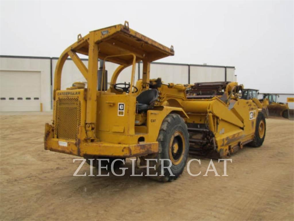 Caterpillar 613、スクレイパー、建設