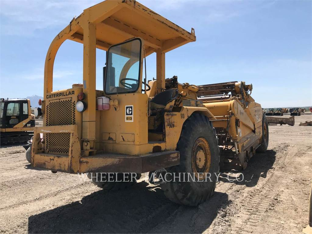 Caterpillar 613, Scrapers, Construction