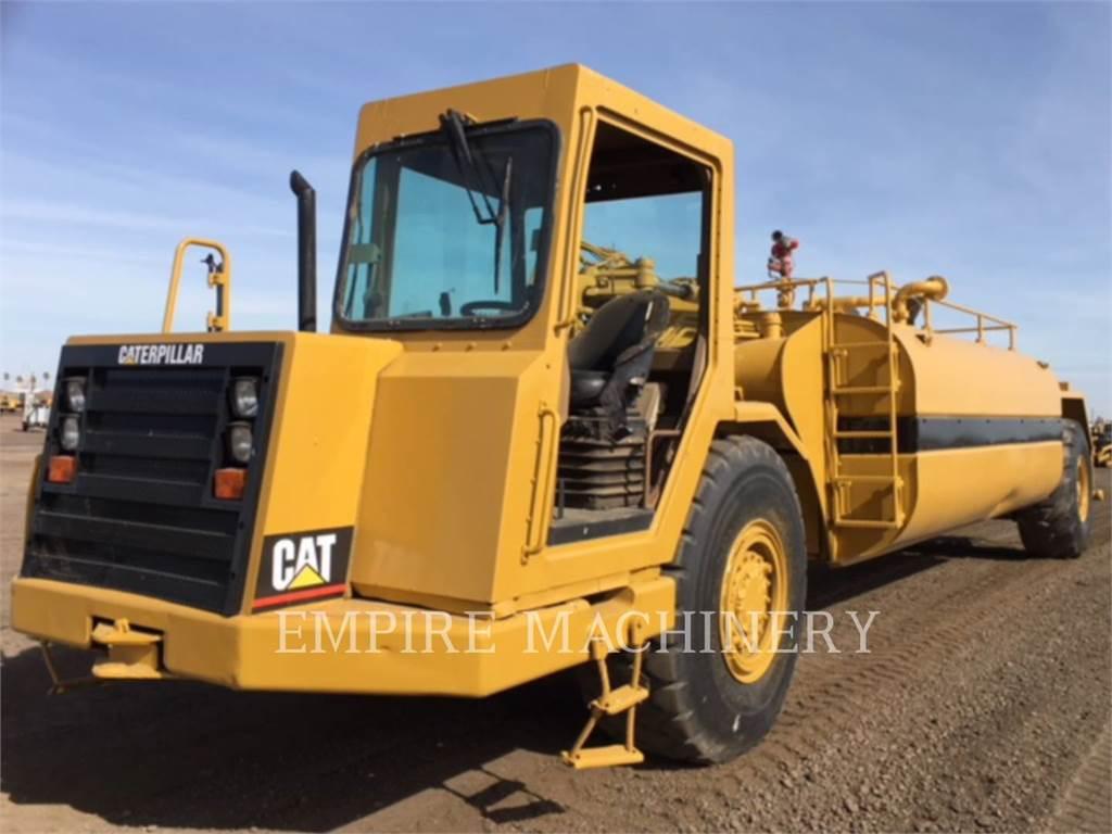 Caterpillar 613C, Skrobaki, Sprzęt budowlany