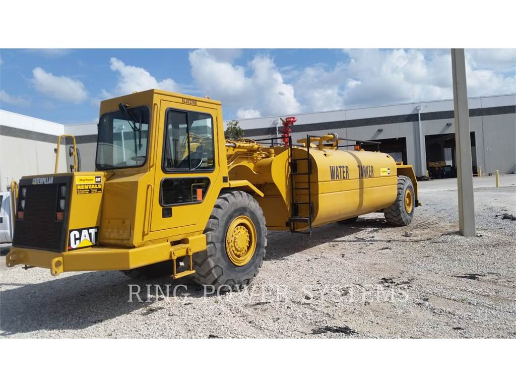 Caterpillar 613C, Water Tankers, Construction
