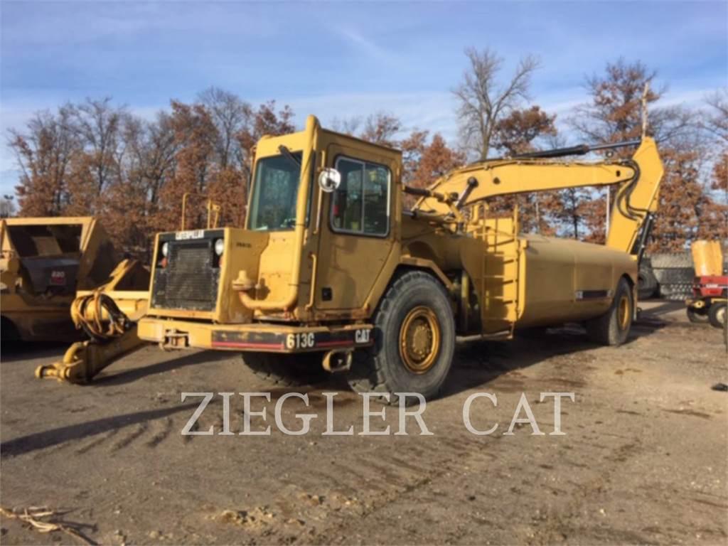 Caterpillar 613C, Scrapers, Construction