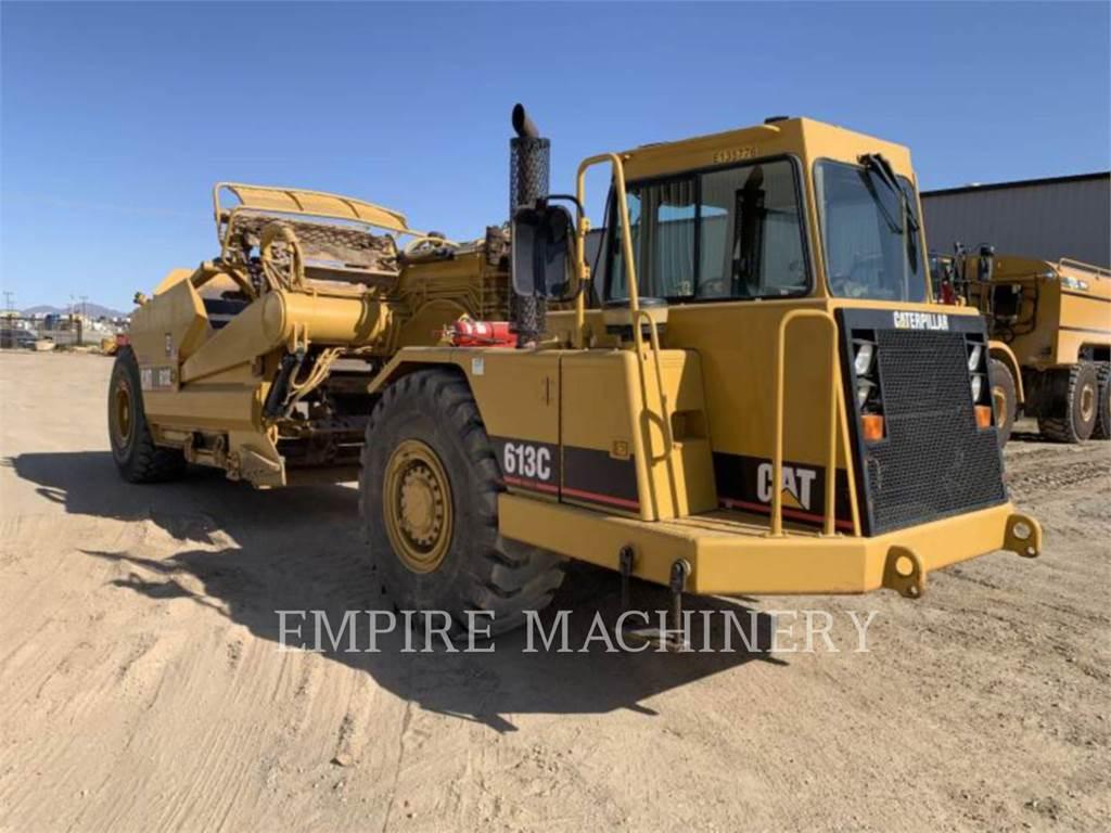 Caterpillar 613C, Raspadores, Construcción