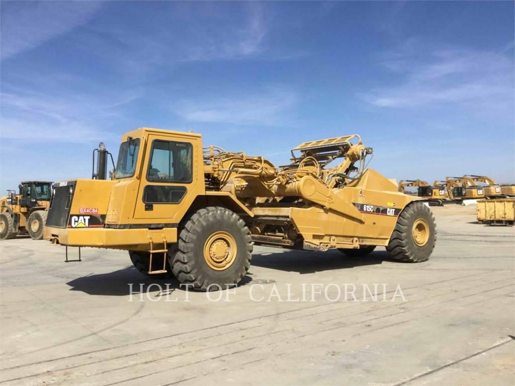 Caterpillar 615C II, Schaber, Bau-Und Bergbauausrüstung