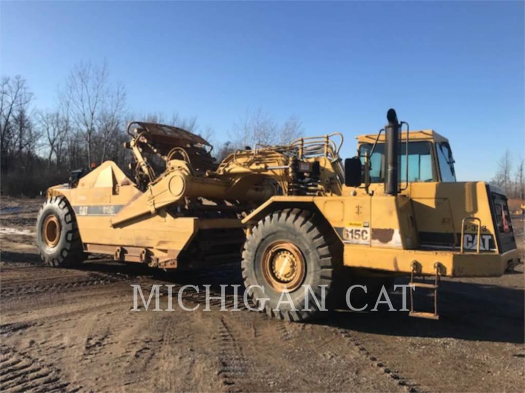 Caterpillar 615CII CA, Scrapers, Construction