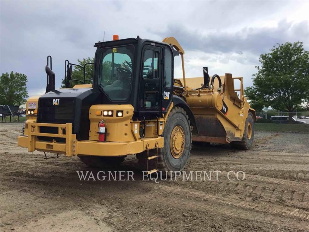 Caterpillar 621K, Scrapers, Construction