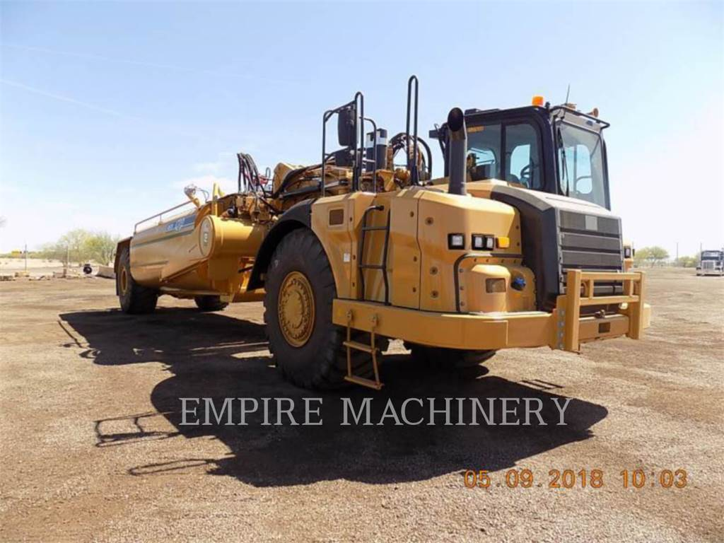 Caterpillar 621K WW, Water Tankers, Construction