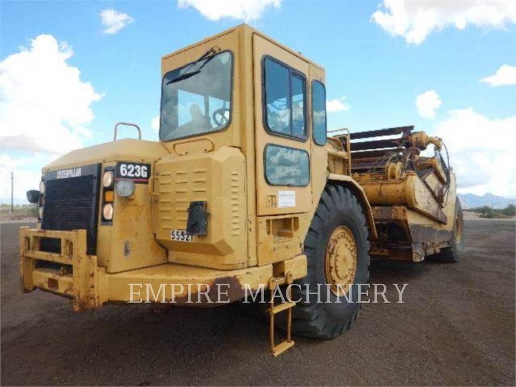 Caterpillar 623G, Scrapers, Construction