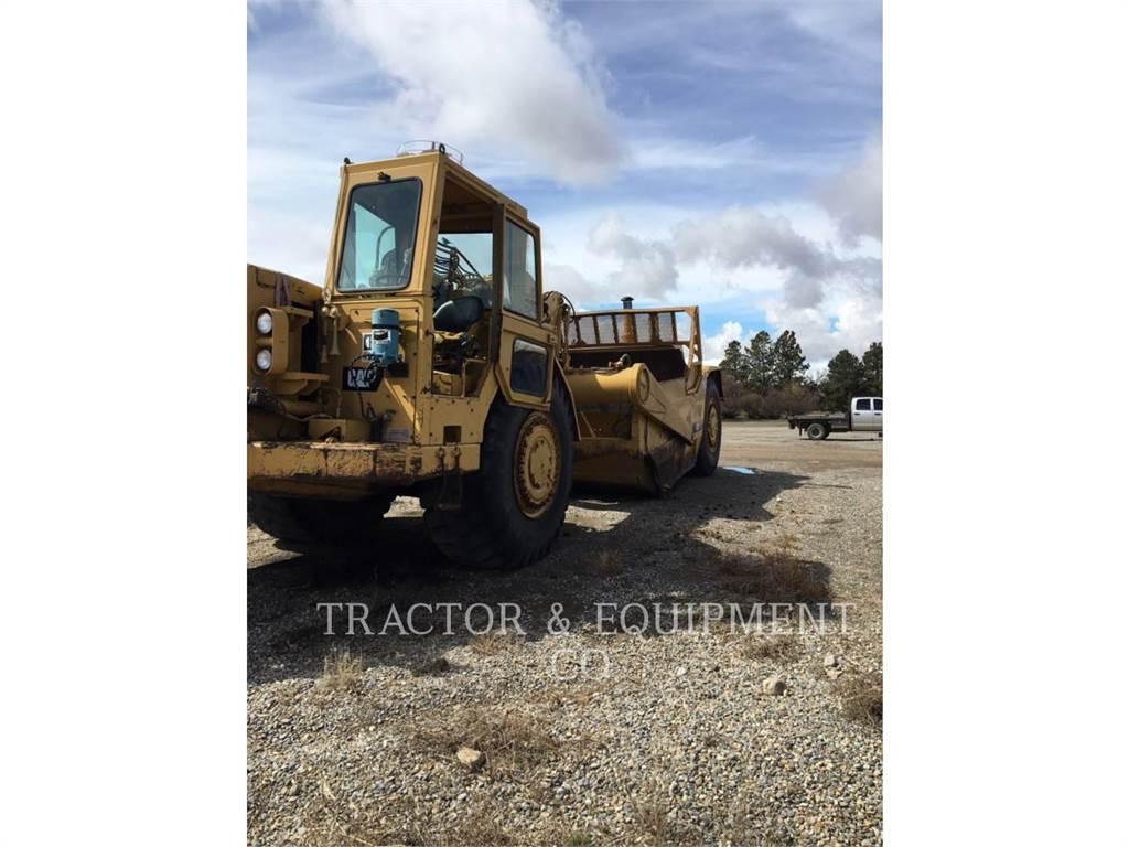 Caterpillar 627B, Scrapers, Construction