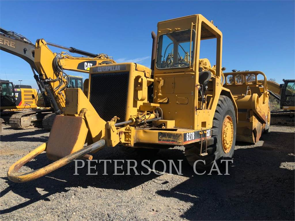 Caterpillar 627B、铲运机、建筑设备