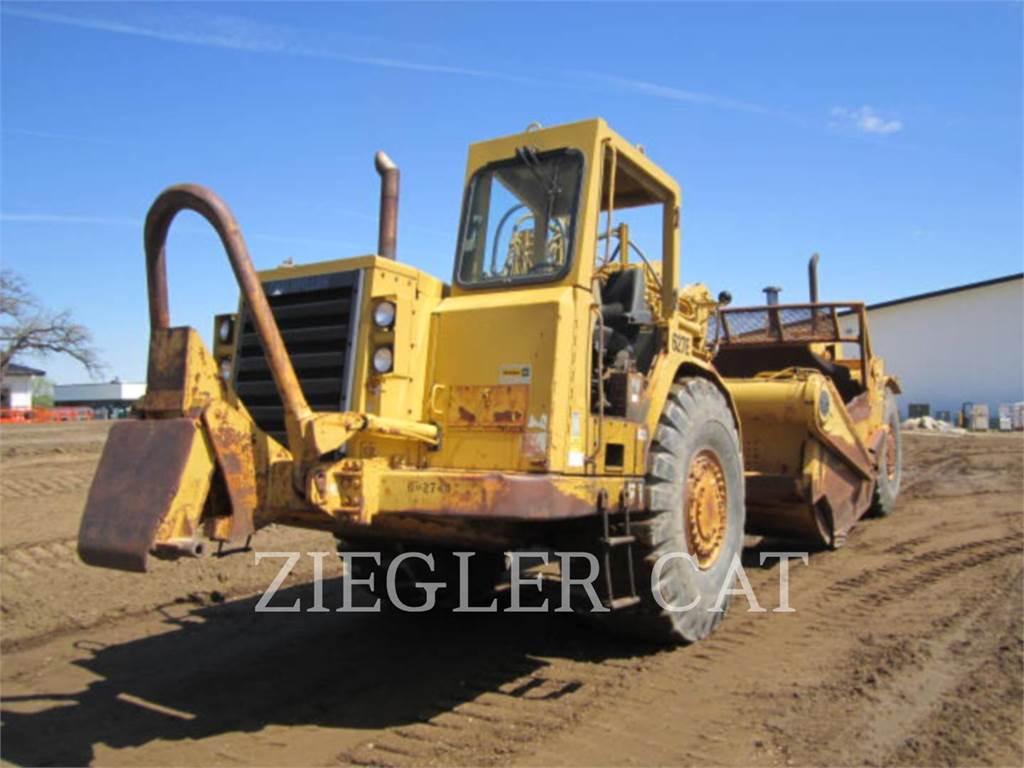 Caterpillar 627E、スクレイパー、建設