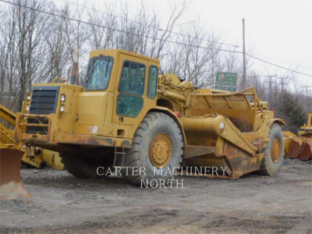 Caterpillar 627E, Raspadores, Construcción