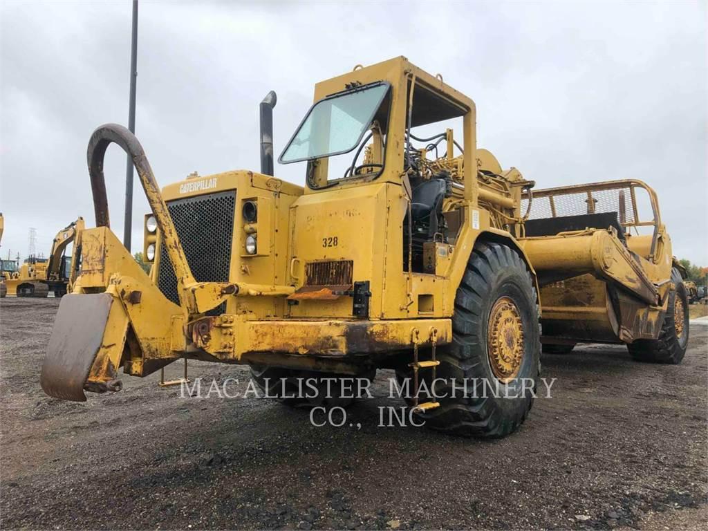 Caterpillar 627E, Scrapers, Construction