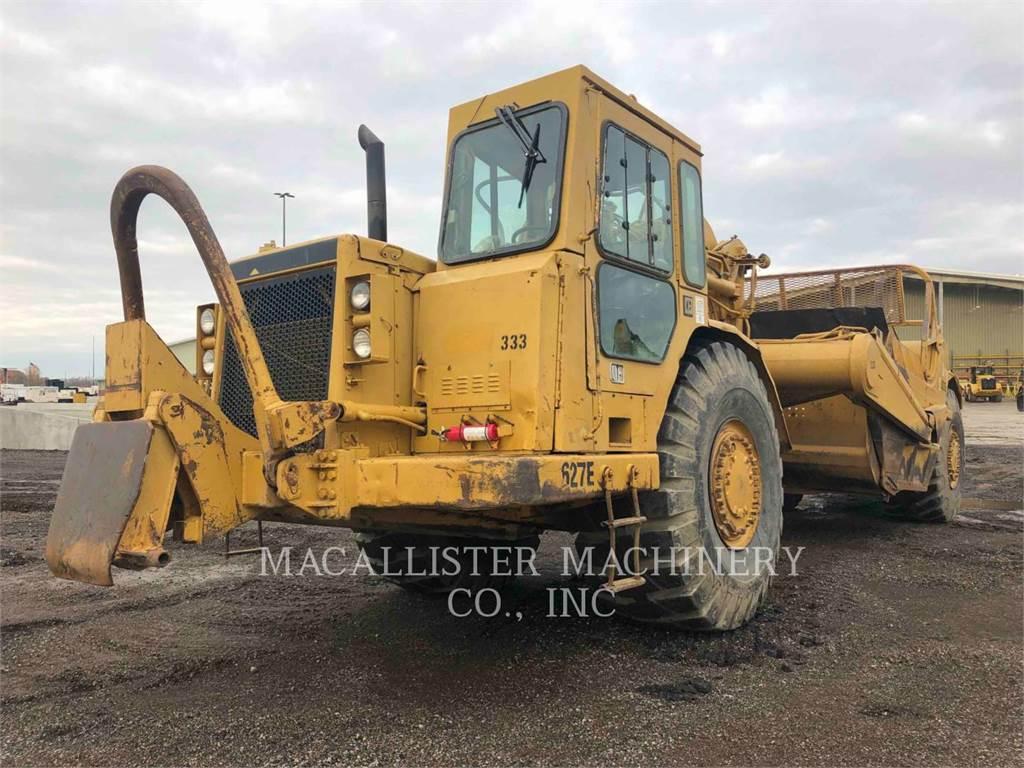 Caterpillar 627EPP, Raspadores, Construcción