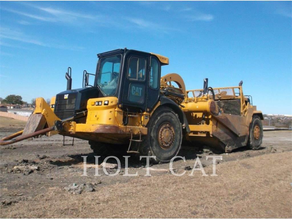 Caterpillar 627H、スクレイパー、建設