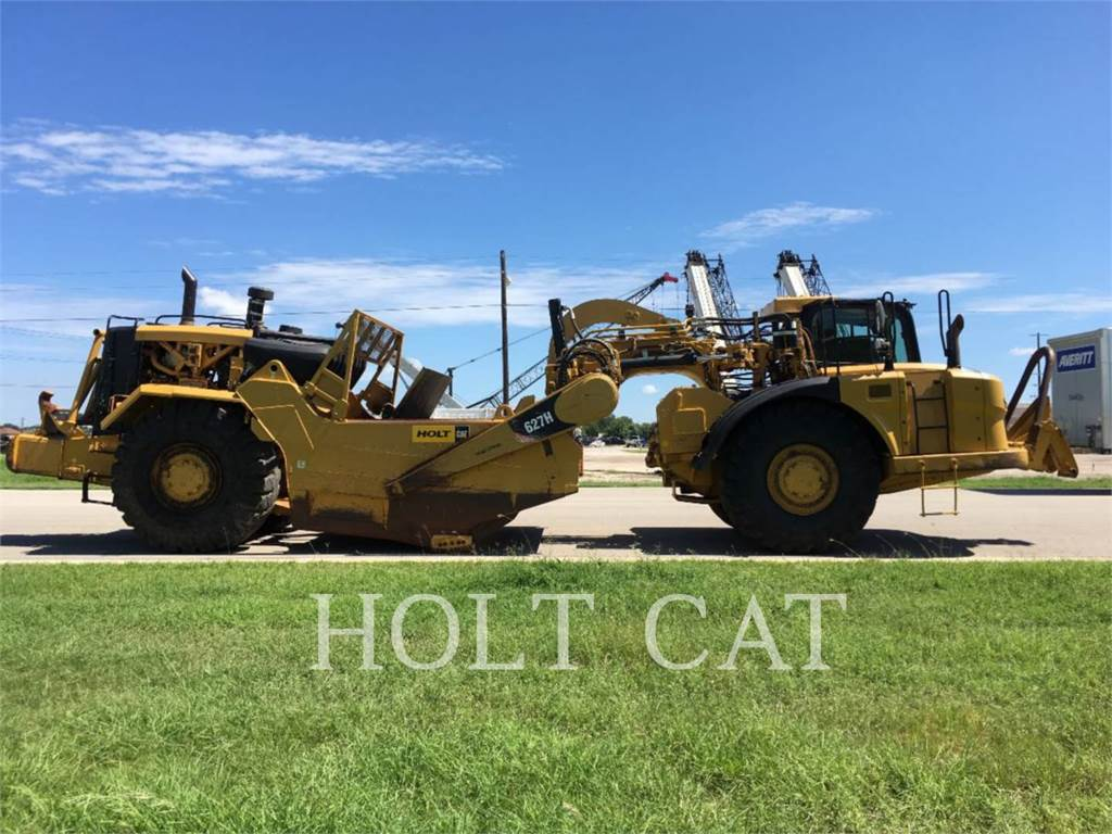 Caterpillar 627H、铲运机、建筑设备