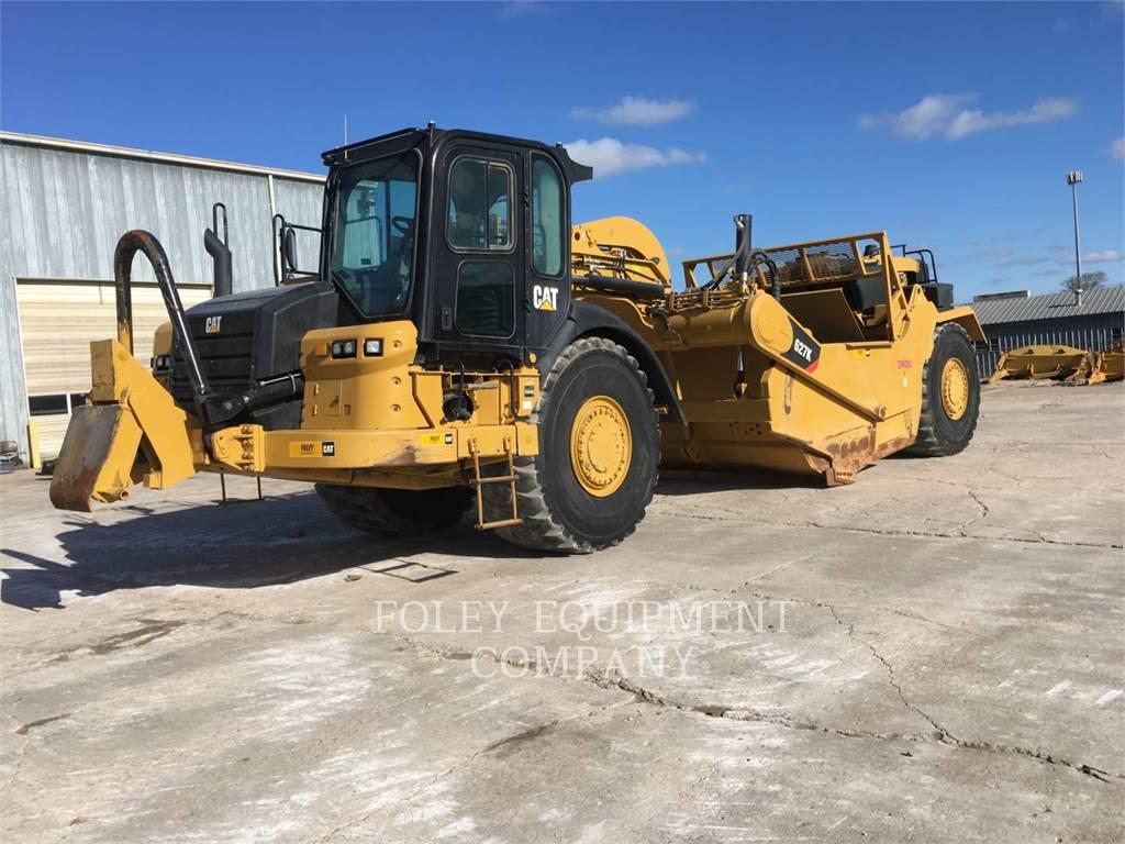 Caterpillar 627K, Raspadores, Equipamentos Construção