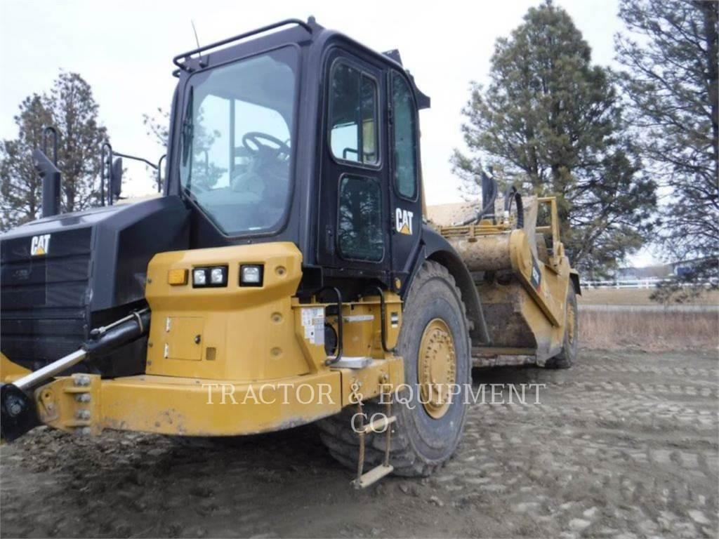 Caterpillar 627K, Skrobaki, Sprzęt budowlany
