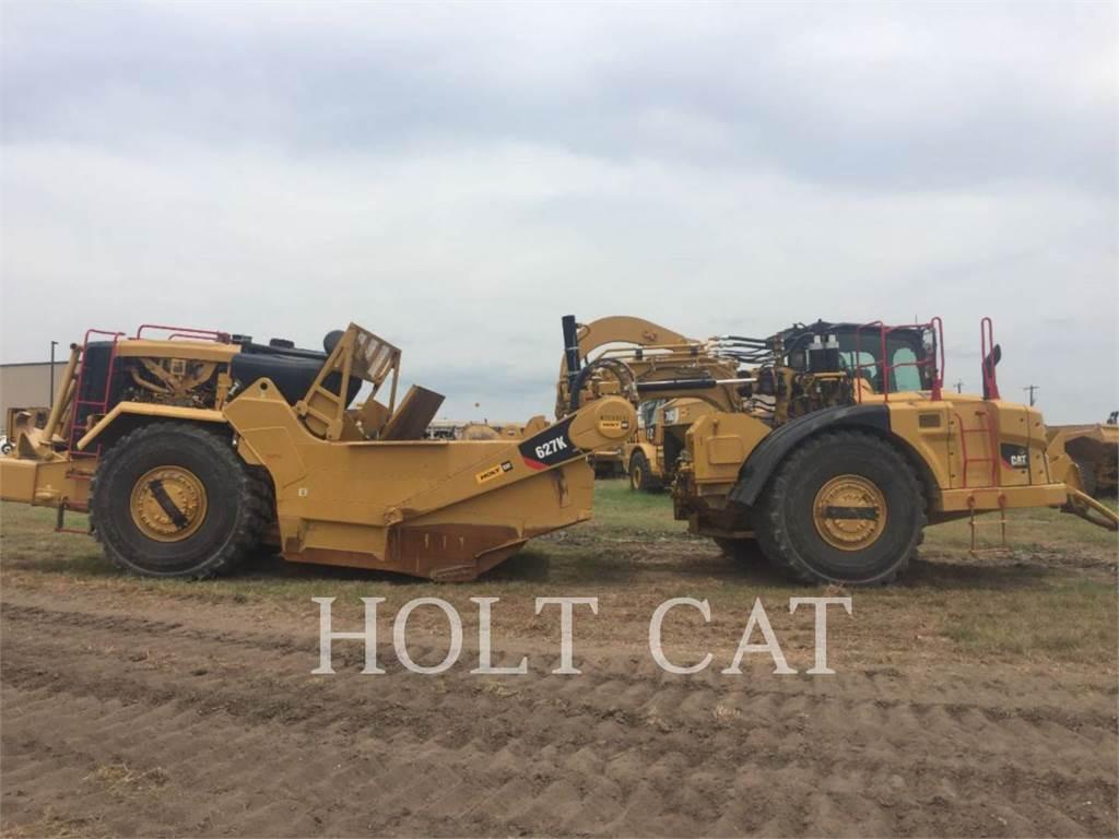 Caterpillar 627K, Scraper, Équipement De Construction