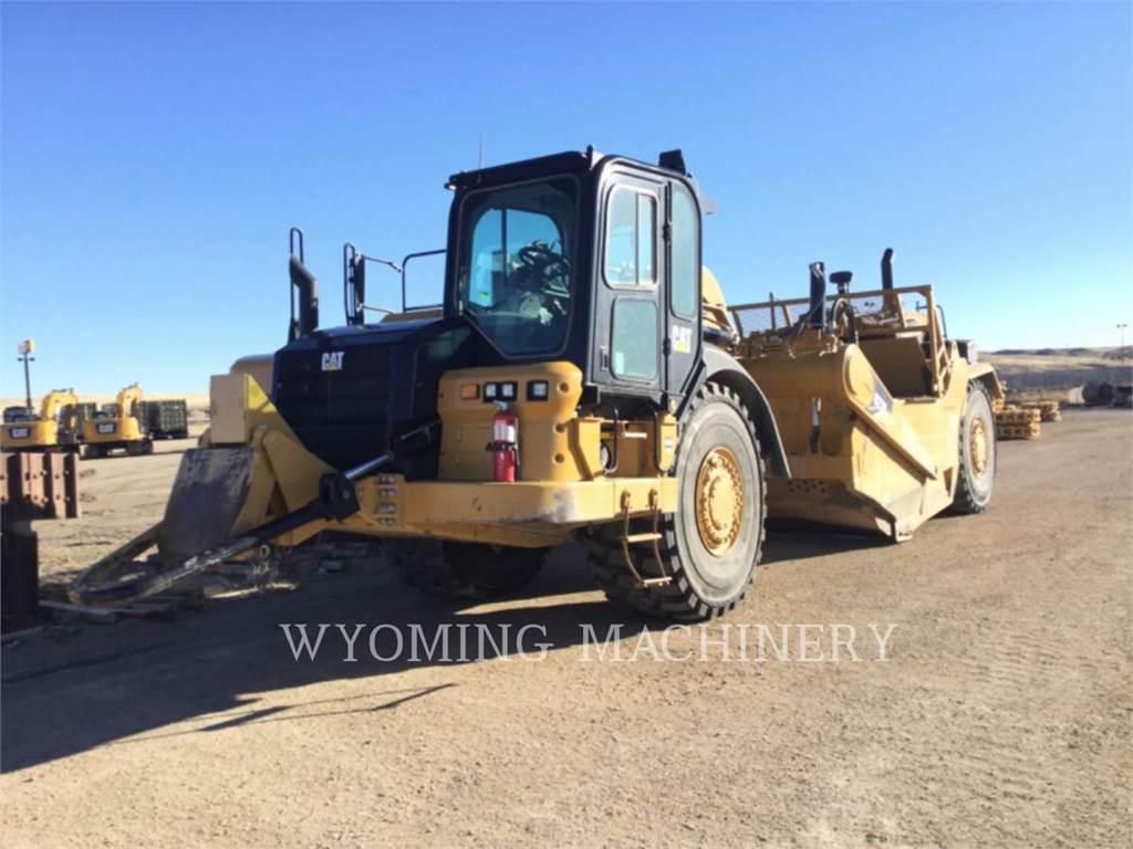 Caterpillar 627K, Scrapers, Construction