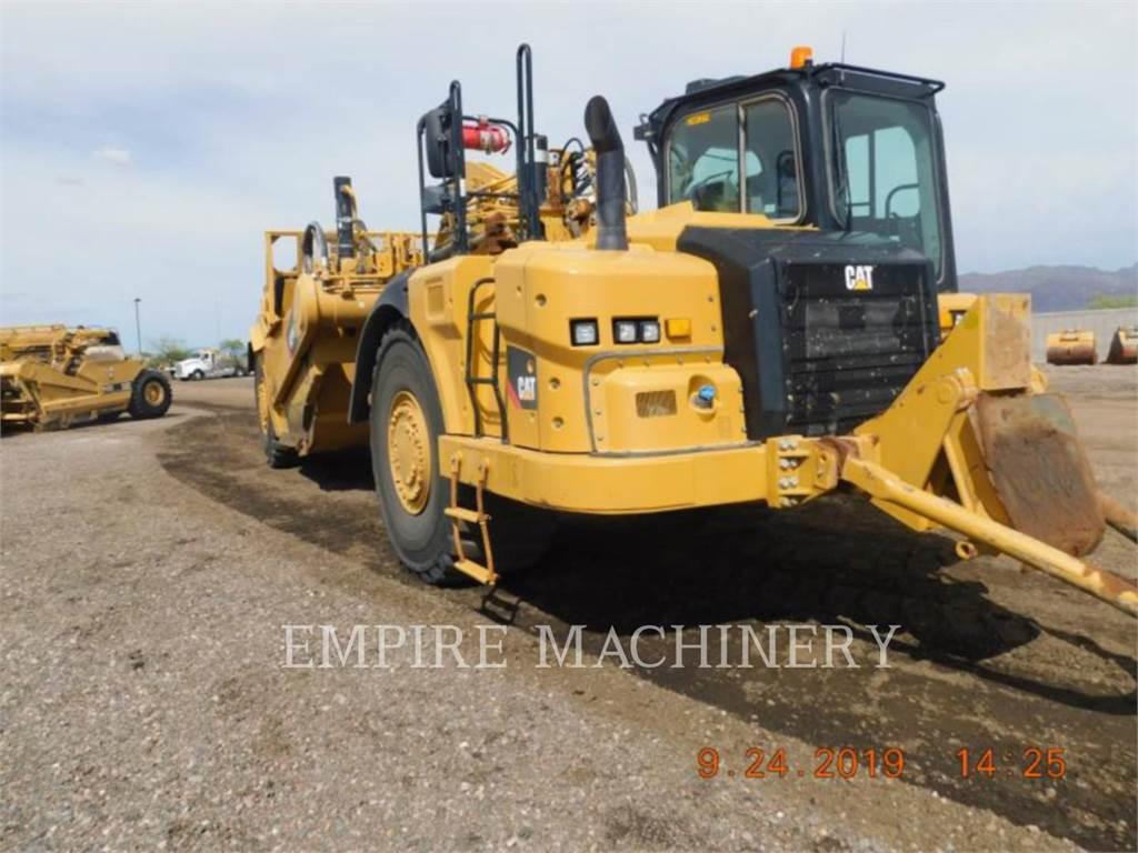 Caterpillar 627K、铲运机、建筑设备