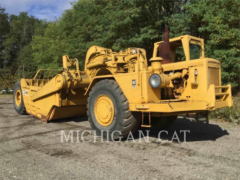 Caterpillar 631C, Scraper, Équipement De Construction
