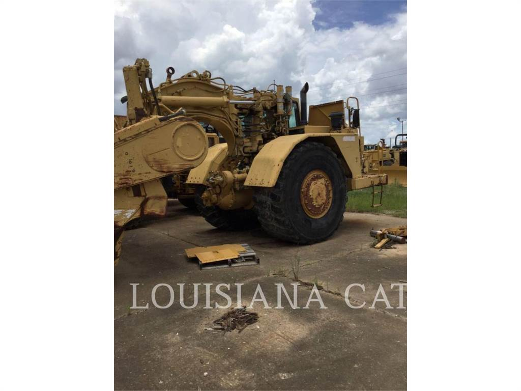 Caterpillar 631E, Scrapers, Construction