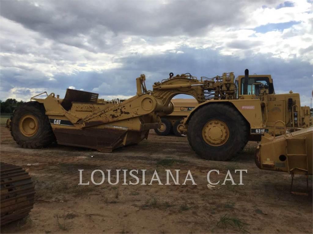 Caterpillar 631E, Scraper, Équipement De Construction