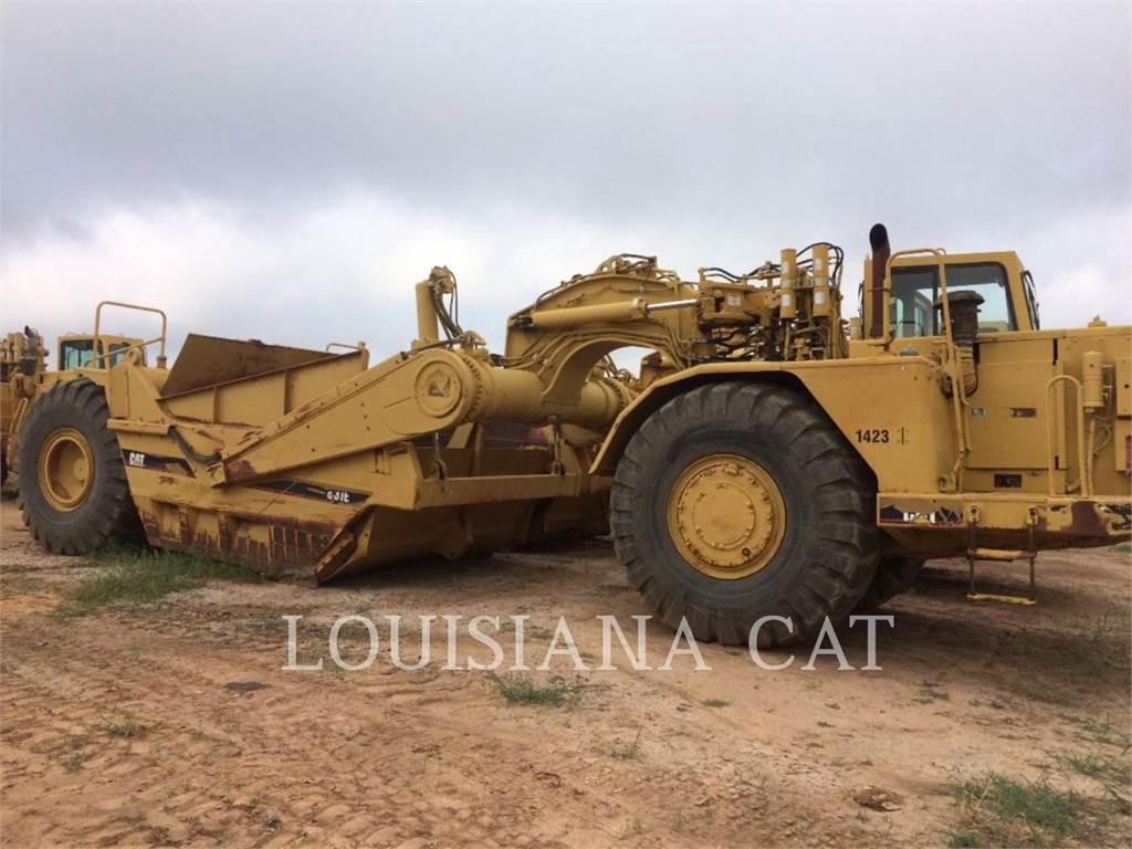 Caterpillar 631E, Schaber, Bau-Und Bergbauausrüstung