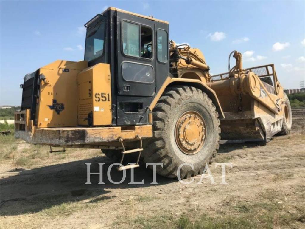 Caterpillar 631G、スクレイパー、建設