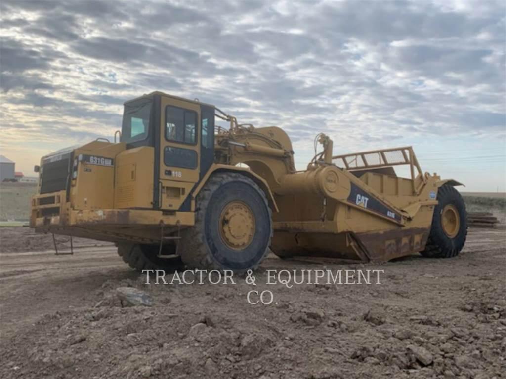 Caterpillar 631G, Raspadores, Construcción