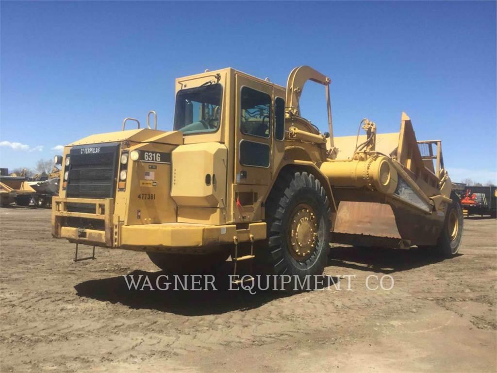 Caterpillar 631G, Scrapers, Construction