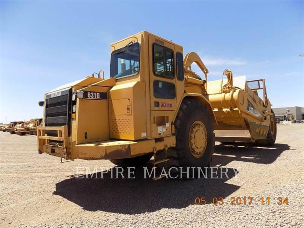 Caterpillar 631G、铲运机、建筑设备