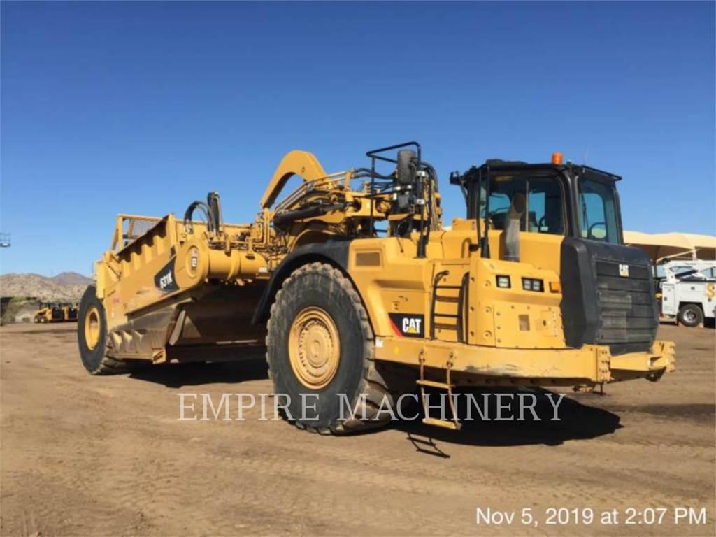 Caterpillar 631K, Schaber, Bau-Und Bergbauausrüstung