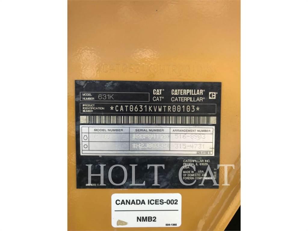 Caterpillar 631K, Elevatoare, Constructii