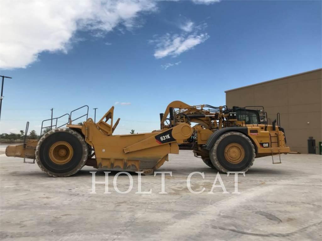 Caterpillar 631K, Scraper, Équipement De Construction