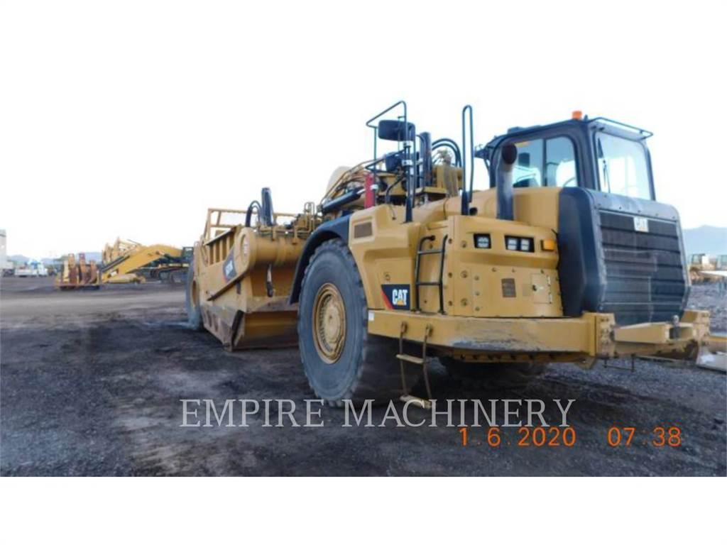 Caterpillar 631K, Skrobaki, Sprzęt budowlany
