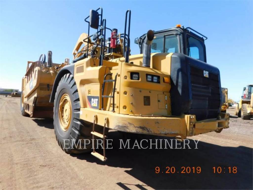 Caterpillar 631K, Raspadores, Equipamentos Construção