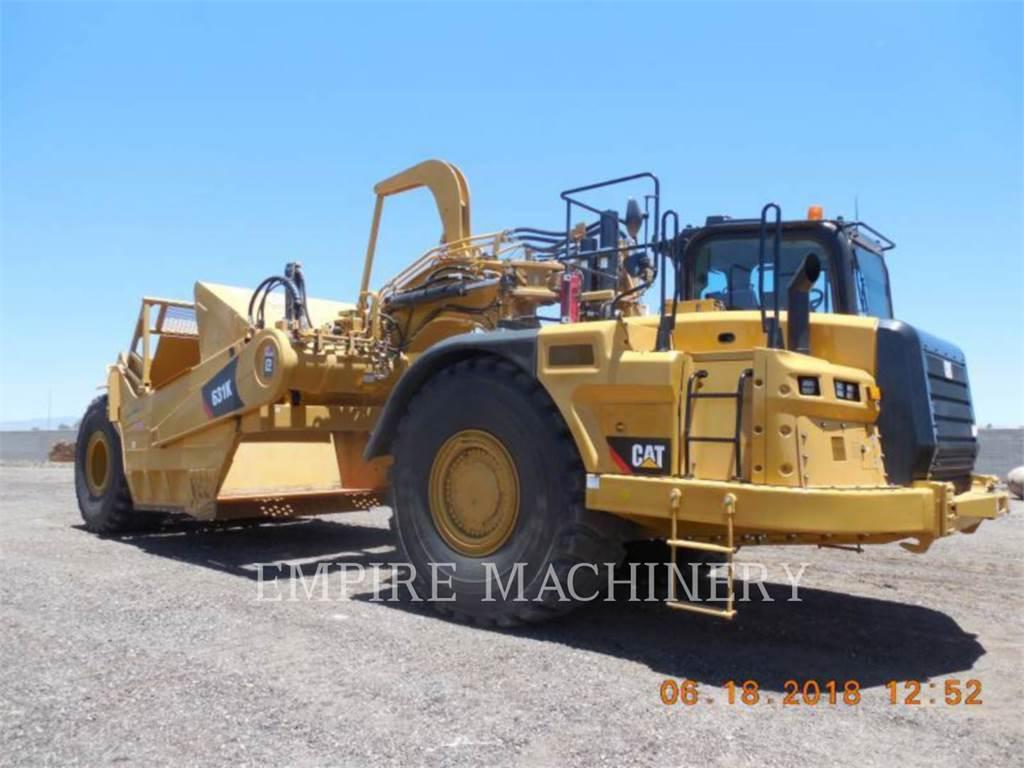 Caterpillar 631K, Scrapers, Construction