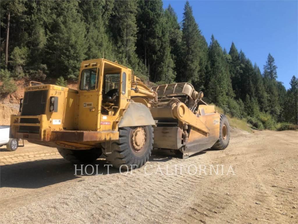 Caterpillar 633D, Raspadores, Equipamentos Construção