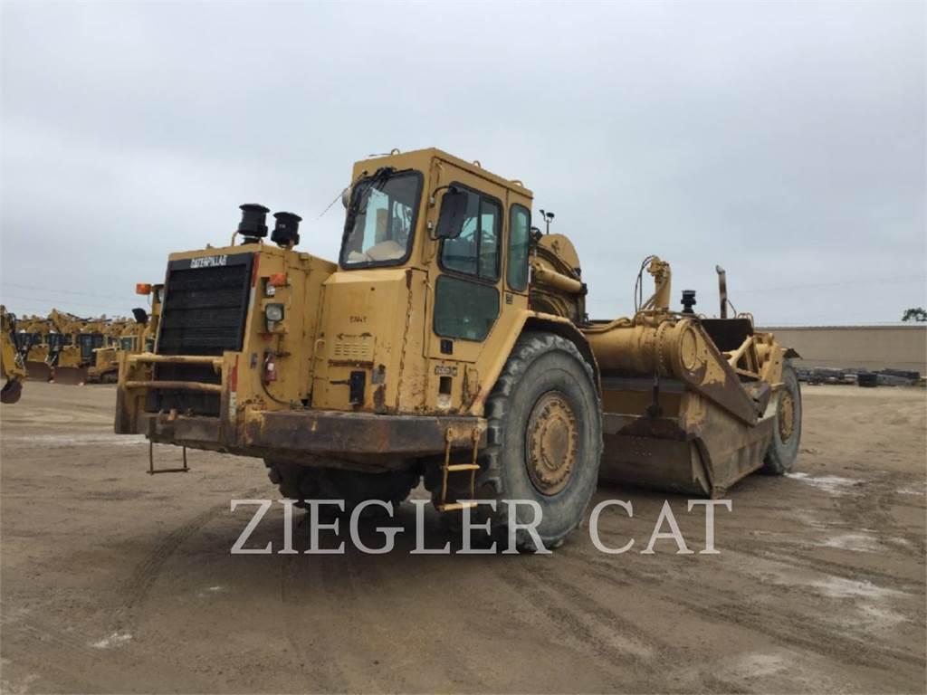 Caterpillar 637EII, Scrapers, Construction