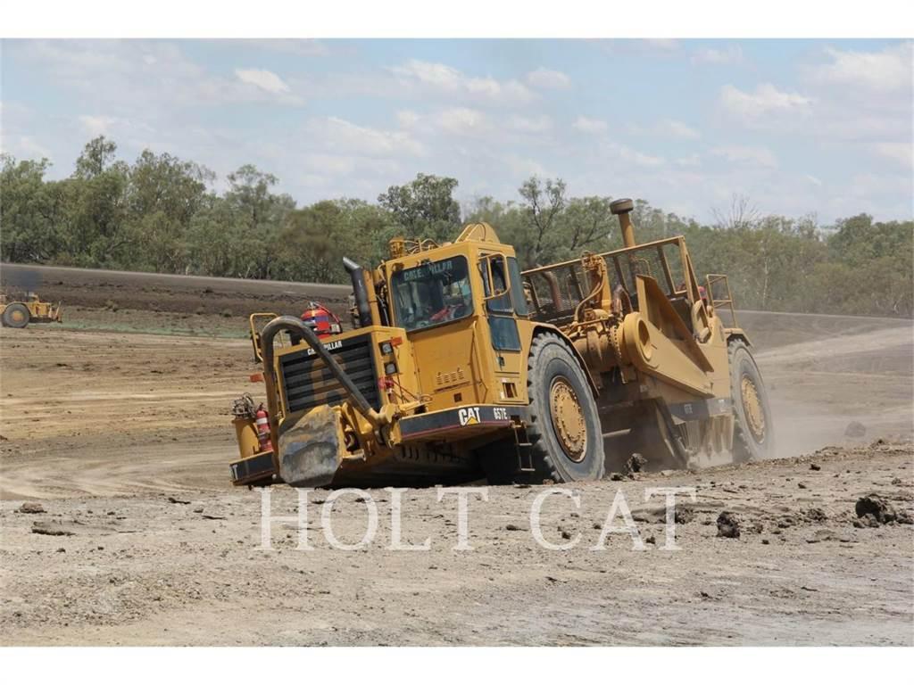 Caterpillar 657E, Scrapers, Construction