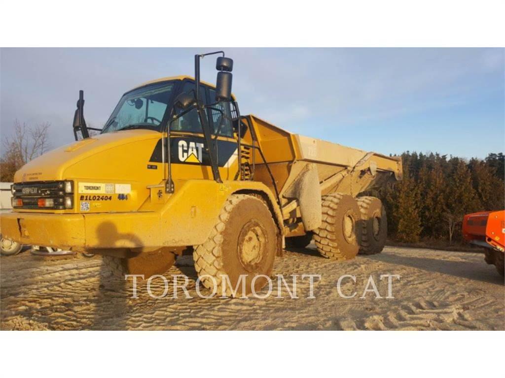 Caterpillar 725, Articulated Dump Trucks (ADTs), Construction