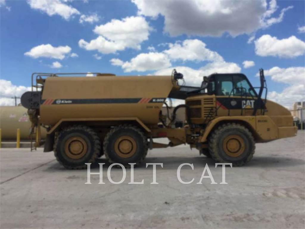 Caterpillar 725、アーティキュレート式ダンプトラック、建設