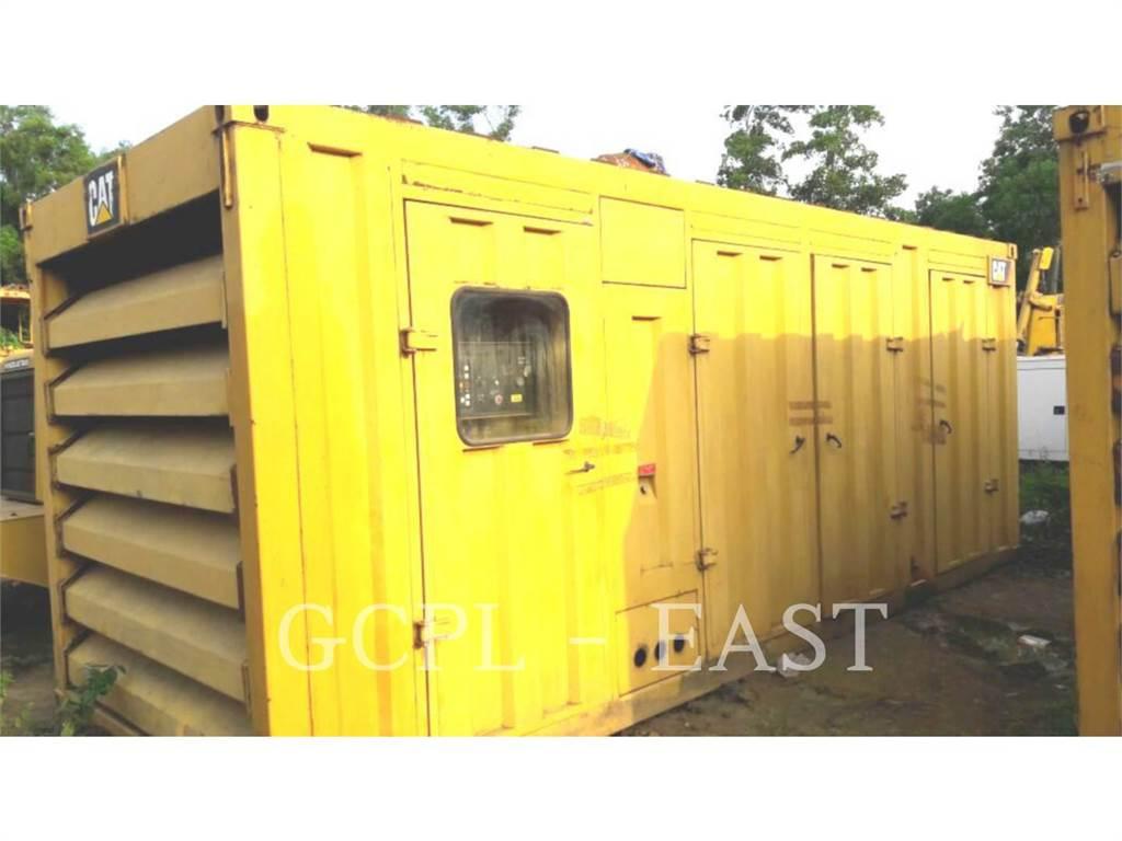 Caterpillar 725 KVA, Grupos electrógenos fijos, Construcción