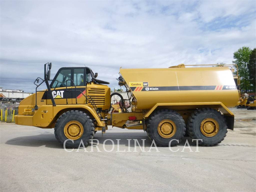 Caterpillar 725 WT, Articulated Dump Trucks (ADTs), Construction