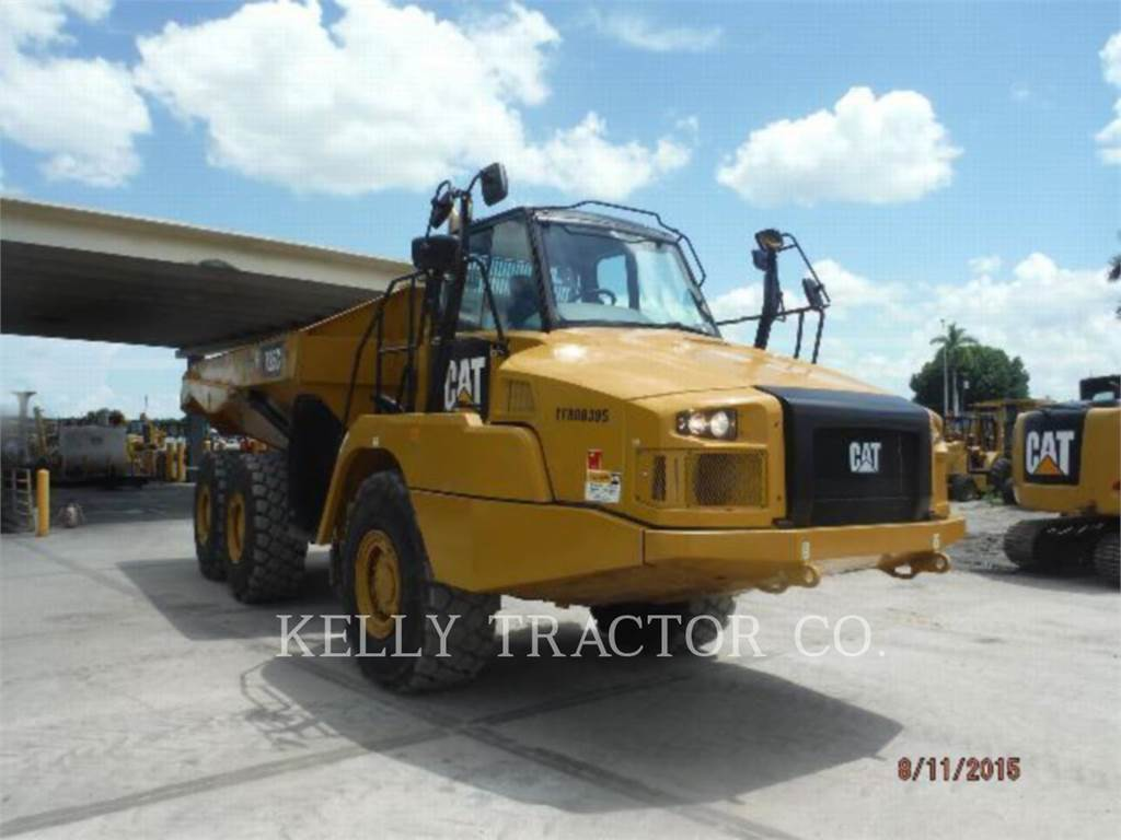 Caterpillar 725C, Articulated Dump Trucks (ADTs), Construction