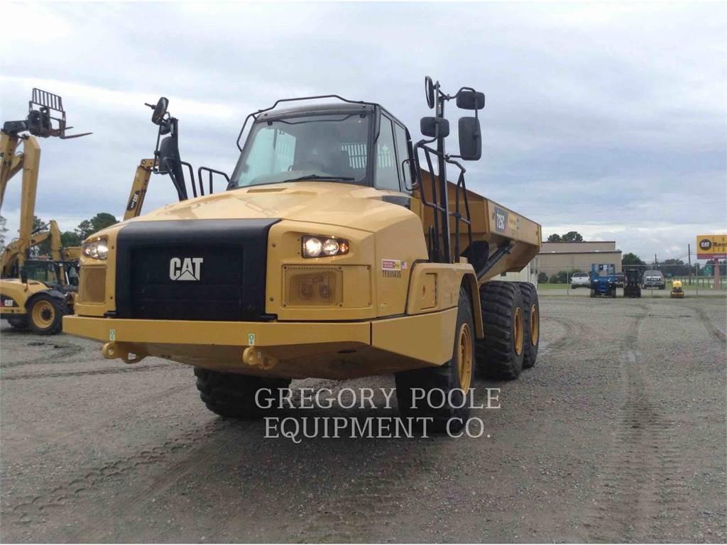 Caterpillar 725C, Tombereau articulé, Équipement De Construction
