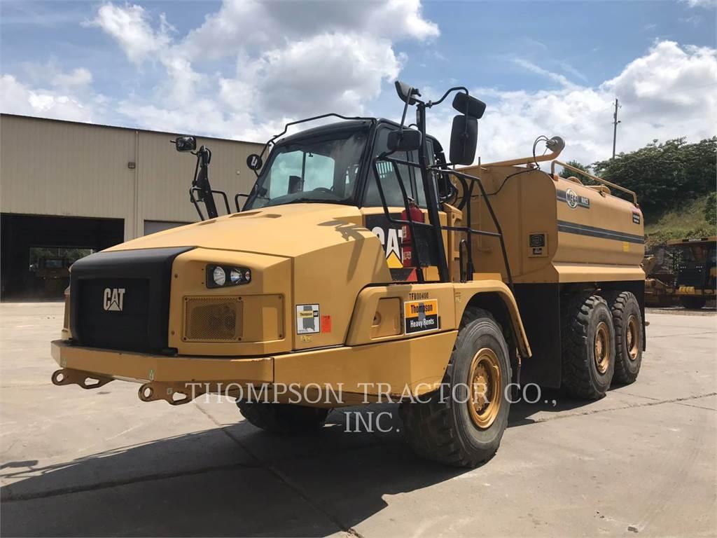 Caterpillar 725C、アーティキュレート式ダンプトラック、建設